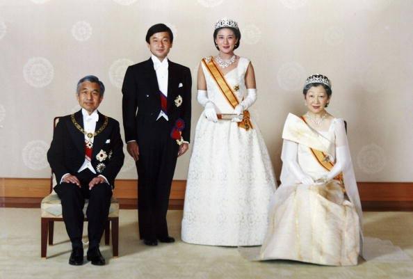 the pink royals wedding of prince naruhito of japan