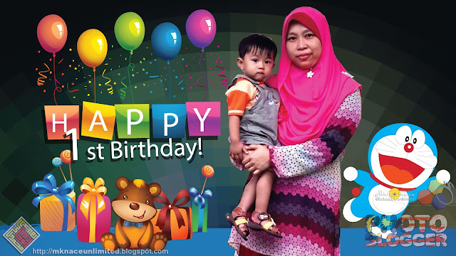 Muhammad Haziq Fiqri turns one