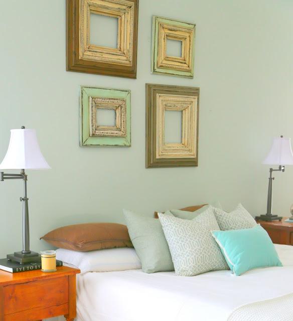 Staged Bedroom Before And After Bedroom Decorating Ideas Light Blue Built In Cupboards Bedroom Ideas Bedroom Carpet Ikea: Dreamingincolor: Staging A Master Bedroom
