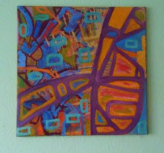 Squared 9 oil 50x50 cm 2013