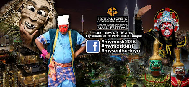 Malaysia International Mask Festival 2015