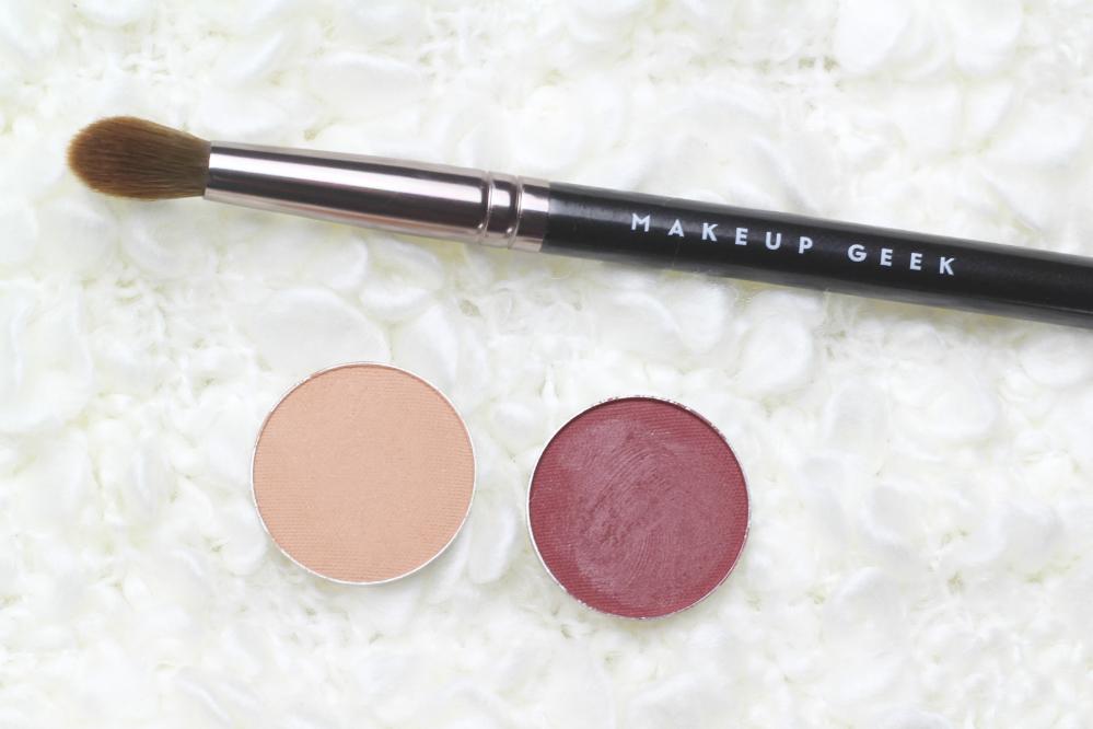 makeup geek haul review creme brulee bitten brush