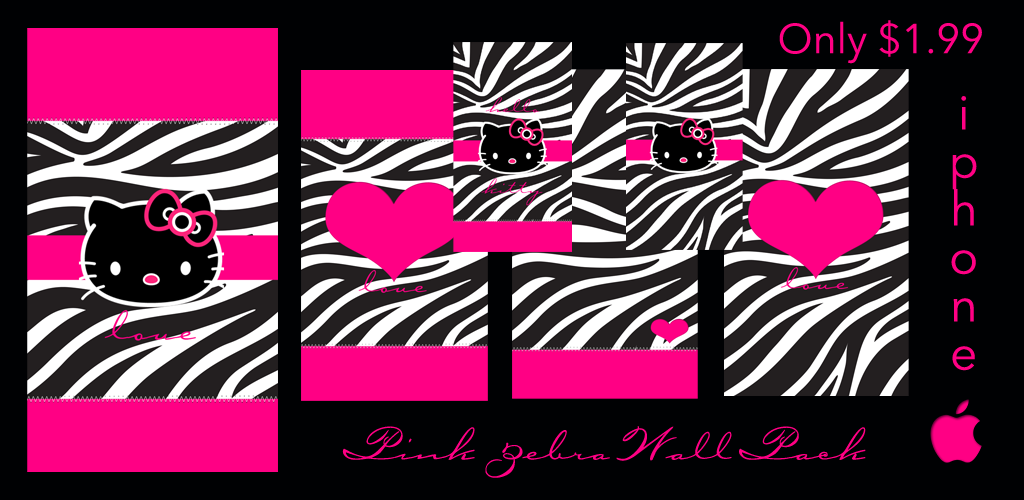Pink zebra background for twitter - photo#11