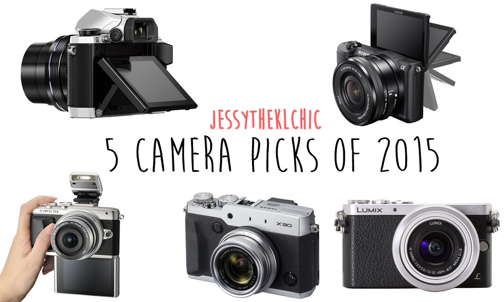 Tech: 5 Camera Picks of 2015
