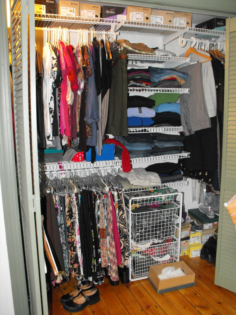 Darling petunia great closet clean up for Great closets