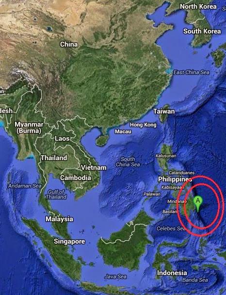 Magnitude 5.0 Earthquake of Lukatan, Philippines 2014-09-17