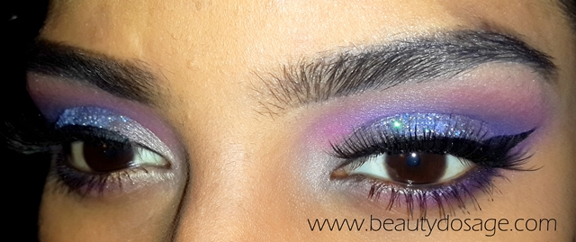 Eye makeup Tutorial: Dramatic Eye look inspired by the Galaxy ...