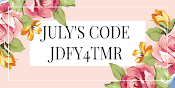 USE JULY'S CODE WHEN SHOPPING