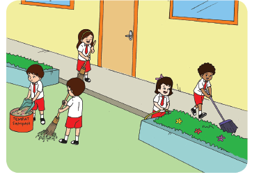 Soal Uas Tematik Kelas 2 Tema 4 Aku Dan Sekolahku Semester 1 Kurikulum 2013