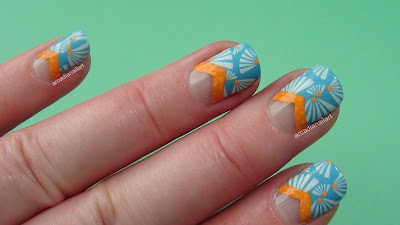 Beach Nails Bundlemonster Stamping