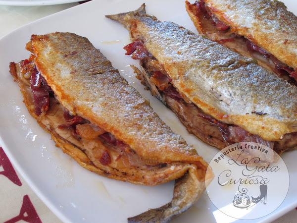 Trucha con jamon cocinar en casa es - Como cocinar la trucha ...