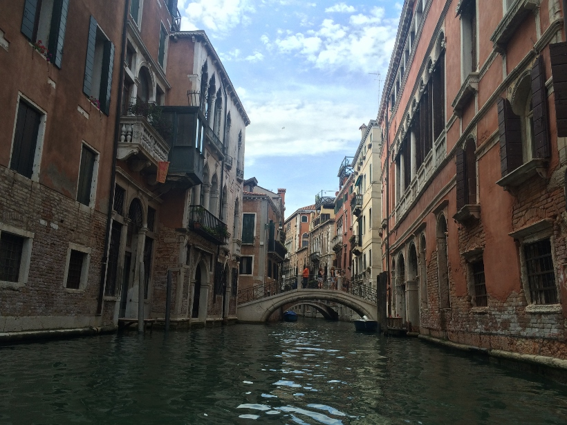 Canal from gondola