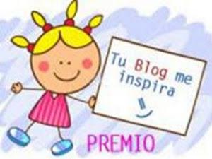 """Premio """"Tu Blog me inspira"""""""