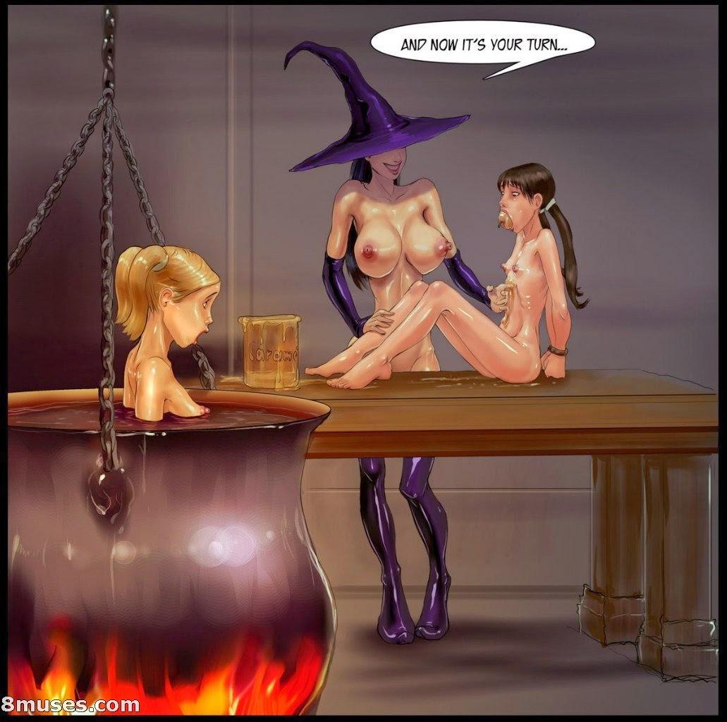 Cartoon Porn Magic WITCH Porn