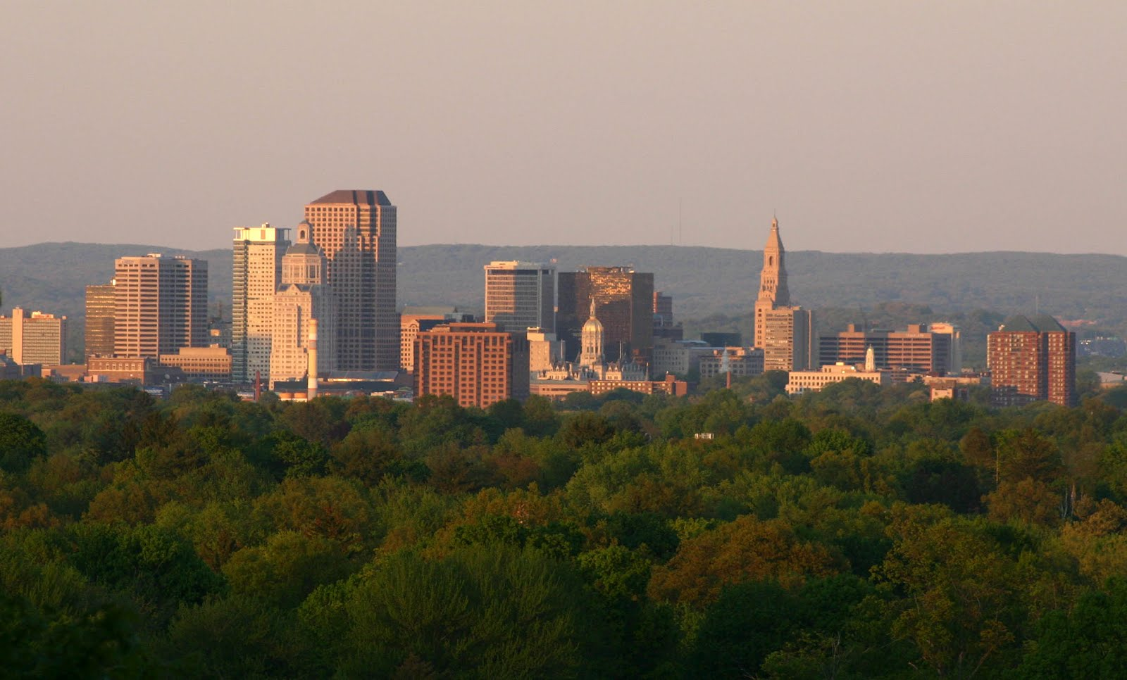 ... Blog: View east from Selden Hill, West Hartford CT, Hartford Skyline