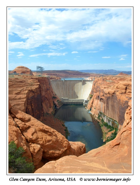 Glen Canyon Dam 2009