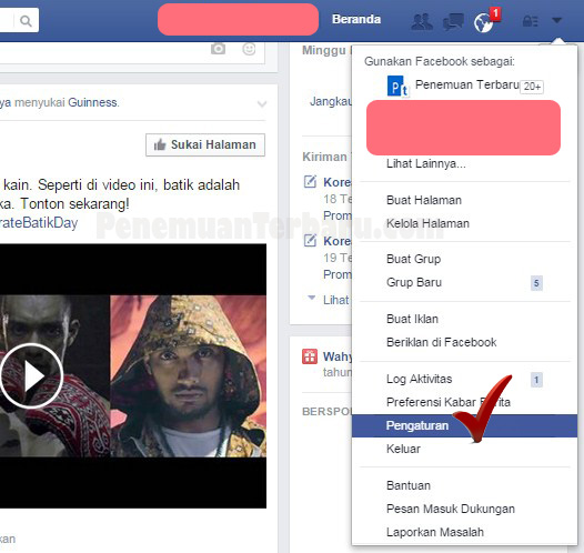 Cara Mematikan dan Mengatasi Pemutar Otomatis Video pada Facebook