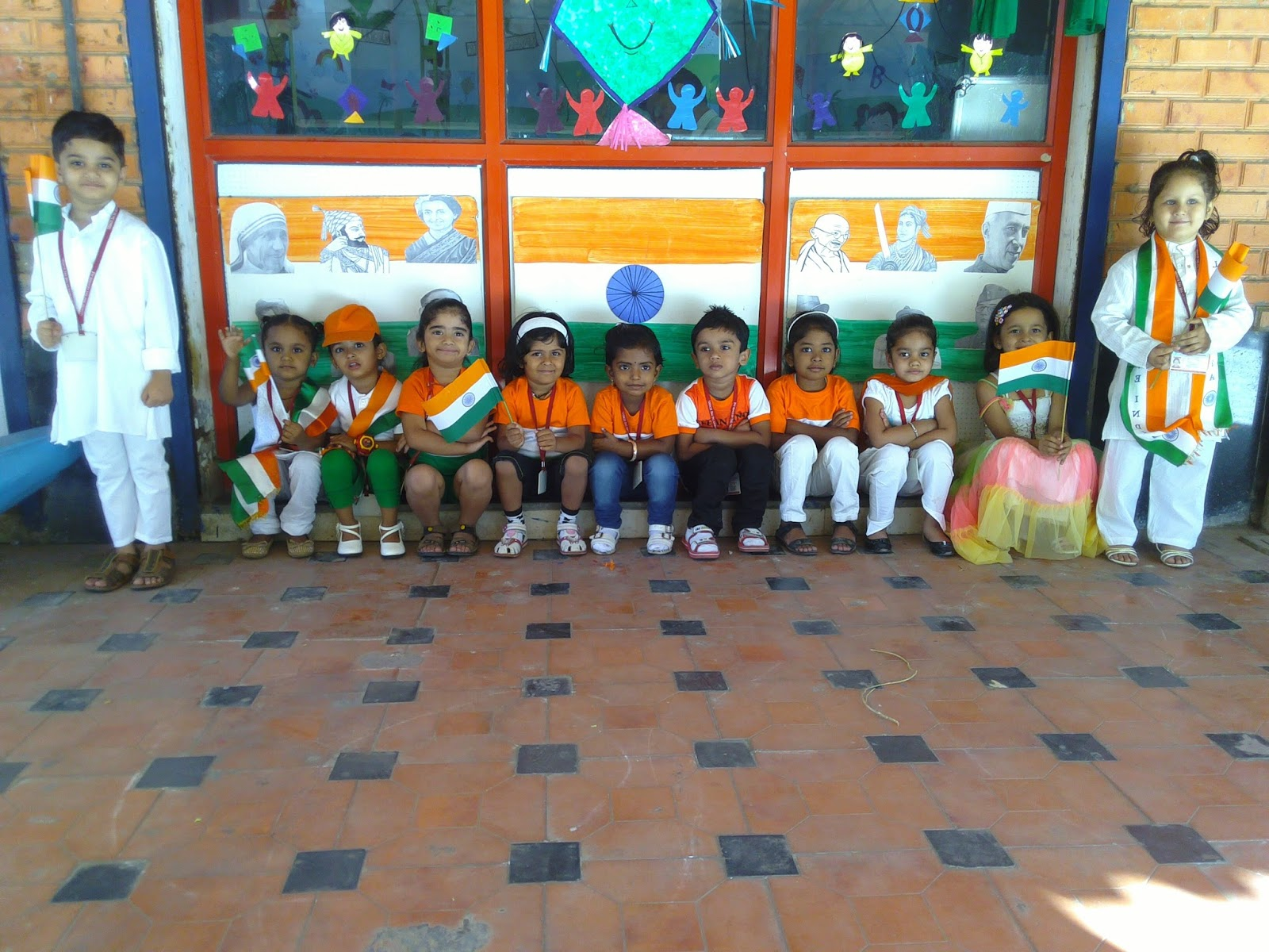 Tricolour dress for republic day pictures