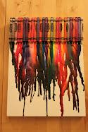 Boya kalemlerinizden tablo yapın!