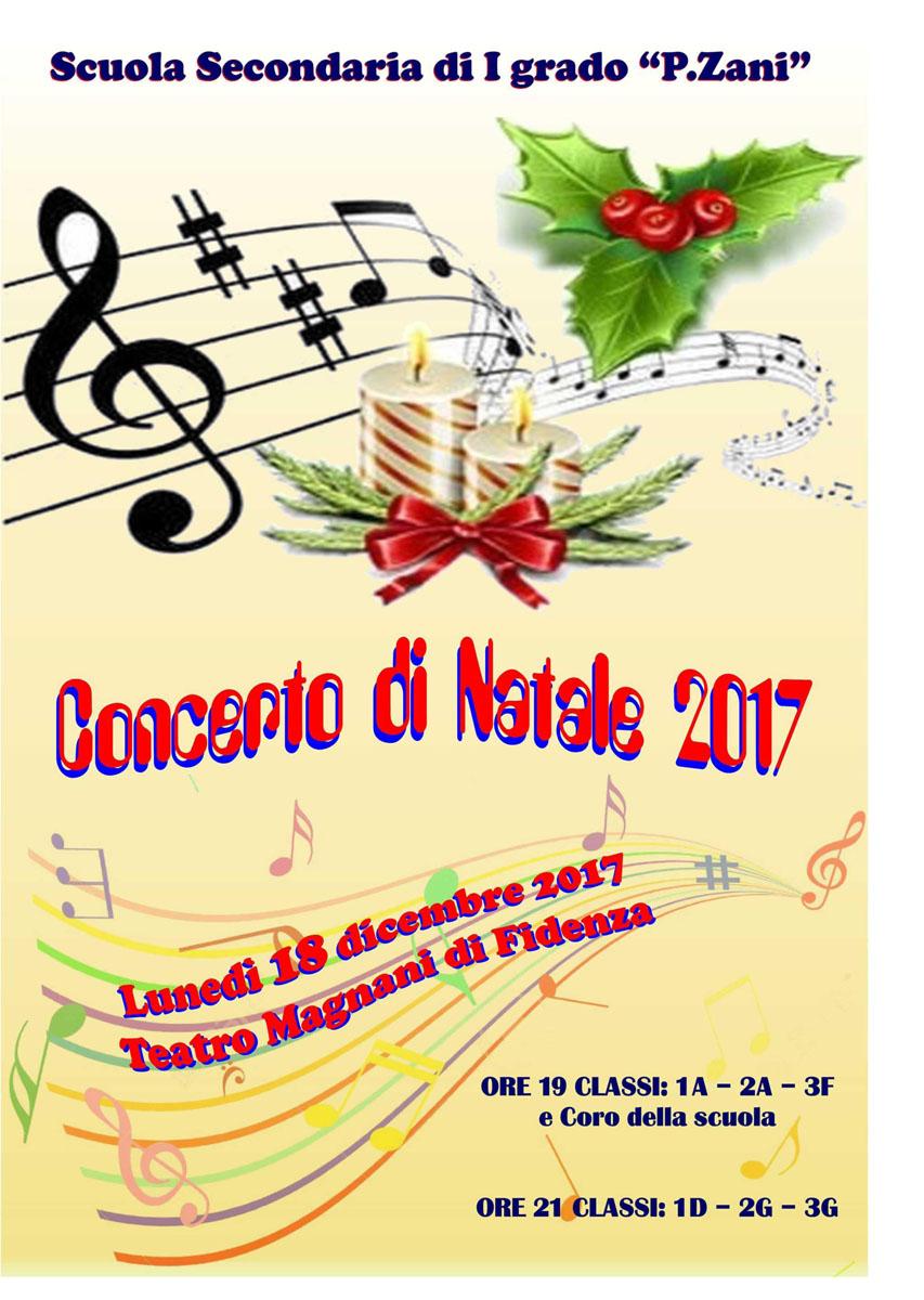 Concerto di Natale della scuola media Zani