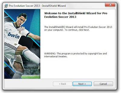 Cara Install Pro Evolution Soccer PES 2013