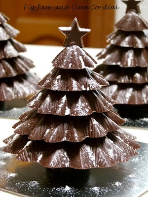 Christmas Chocolate Tree Recipe | Quick Healthy Chocolate Tree Recipe | Chocolate Christmas Tree Recipe