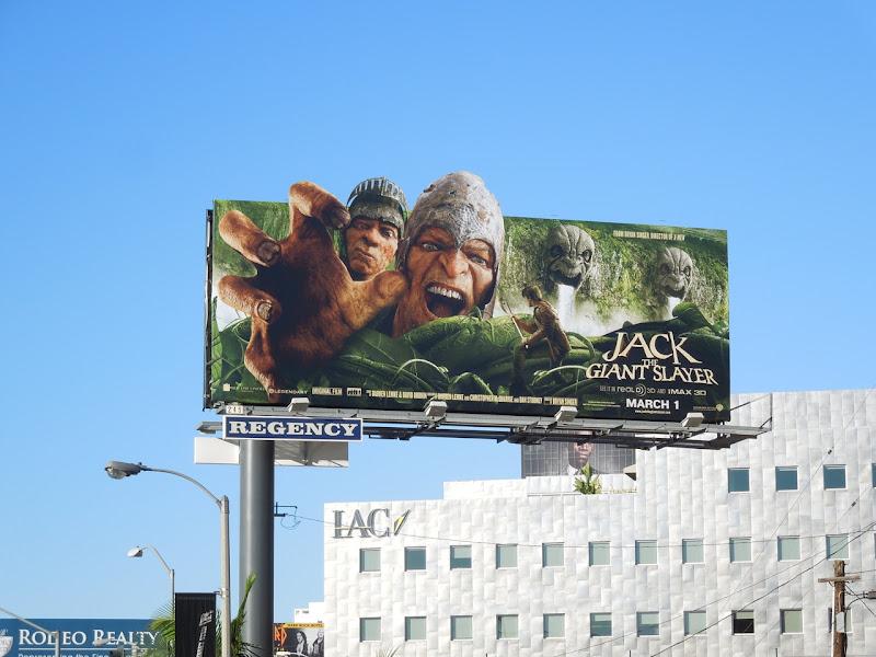 Jack Giant Slayer film billboard
