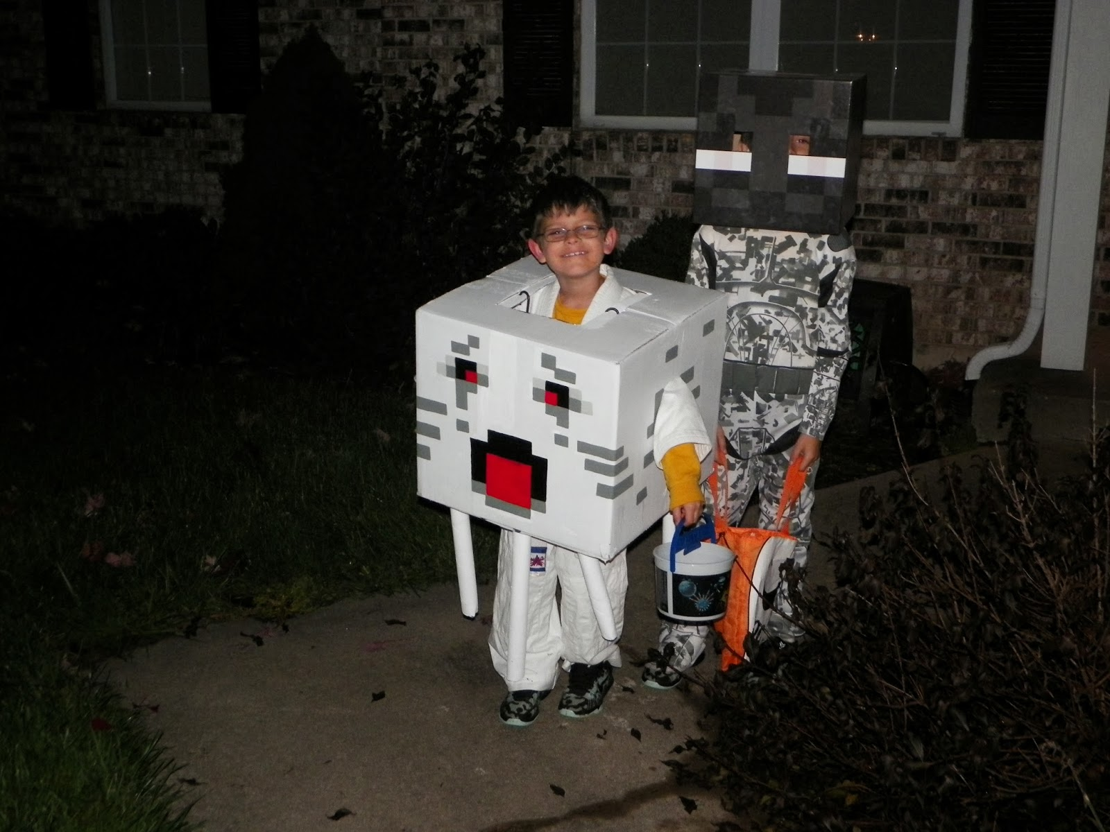 Minecraft Halloween Costume Idea