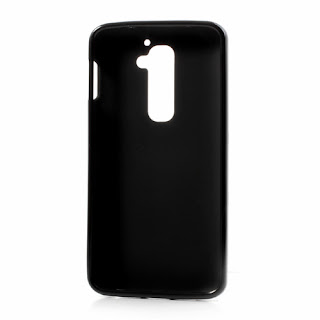 Frosted TPU Jelly Case for LG Optimus G2 D801 D802 - Black
