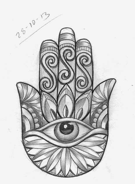 Tattoo Sketch A Day October 2013