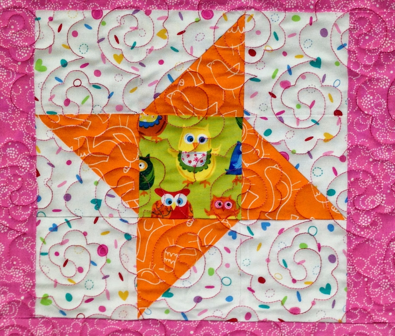 Cheryl Vastola Baby Quilt