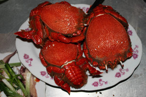 Huỳnh Đế crab - local specialty
