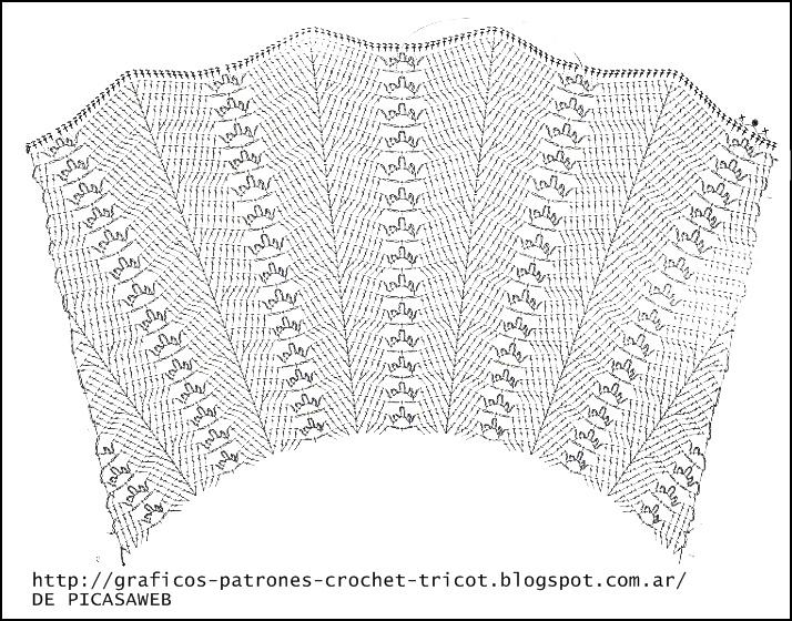 PATRONES=GANCHILLO = CROCHET = GRAFICOS =TRICOT = DOS AGUJAS: LINDO ...