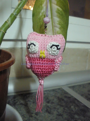 Buo amigurumi realizado a crochet con hilo de nylon