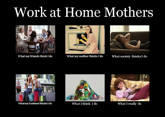 Four what people think i do memes about moms