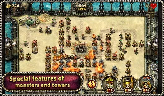 Myth Defense 2: DF Platinum v1.3.5 APK Obb Android