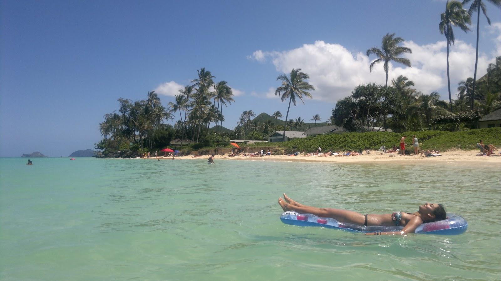 hawaii mal drei tag 14 sch n sch ner lanikai strand. Black Bedroom Furniture Sets. Home Design Ideas