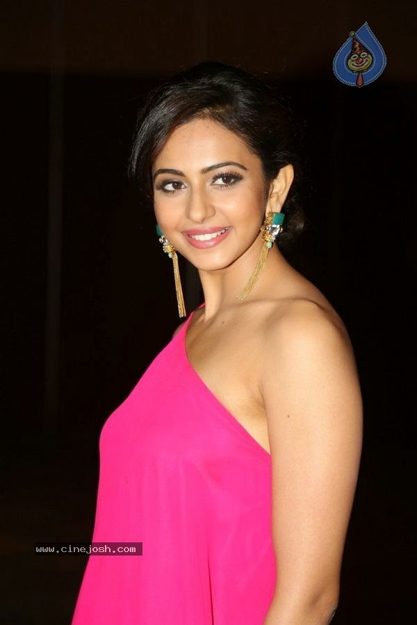 Rakul preet singh new photos at pandaga chesko audio launch