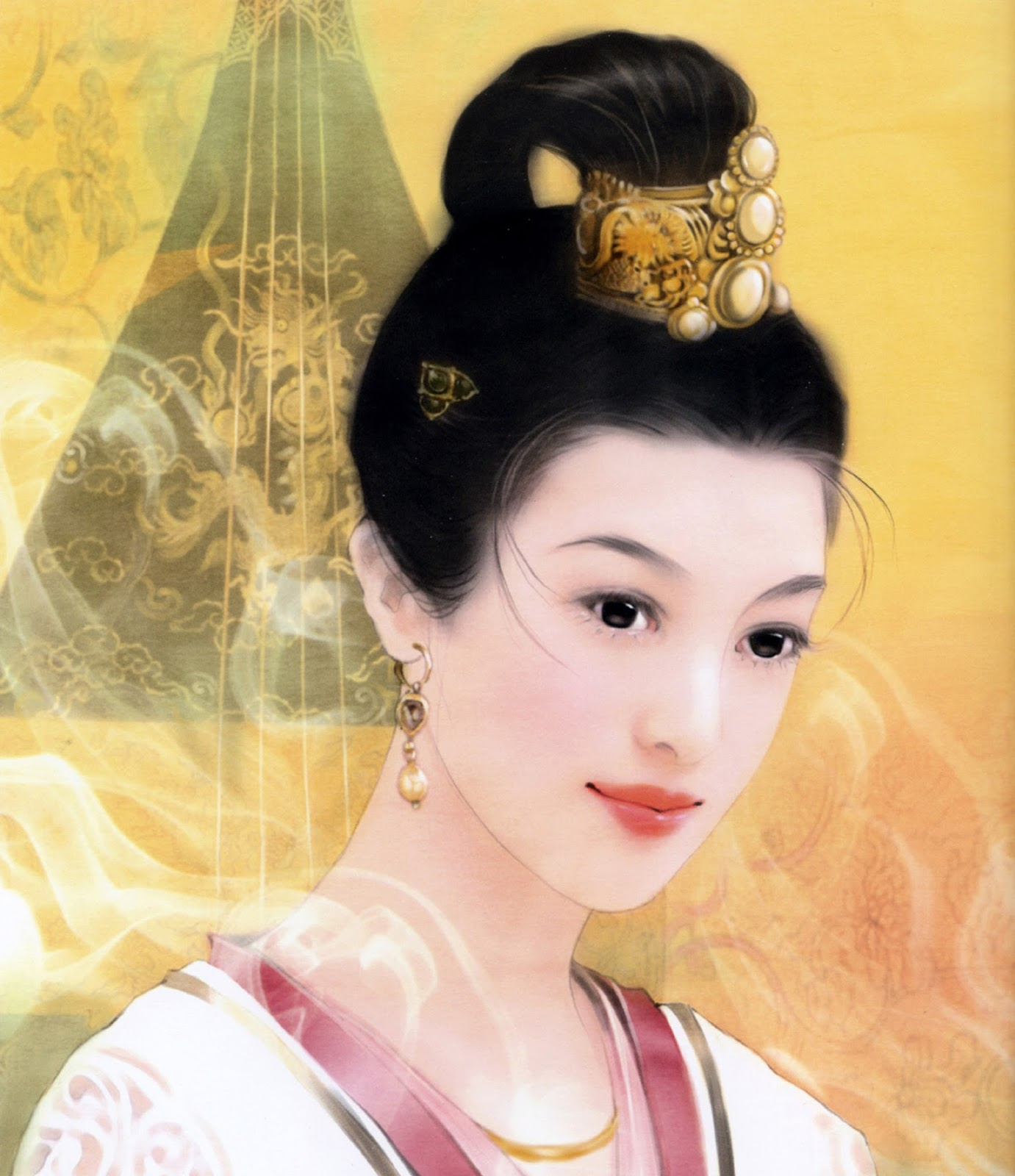Волосы девушек китаянок фото