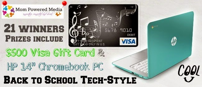 Enter the Back To School Tech Giveaway. Ends 8/15.