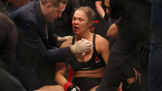 Ronda Rousey, Holly Holm, Ronda Rousey ko, Ronda Rousey Knocked out
