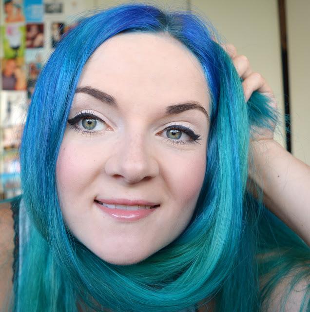 Mittwochs mag ich - blaue Haare!