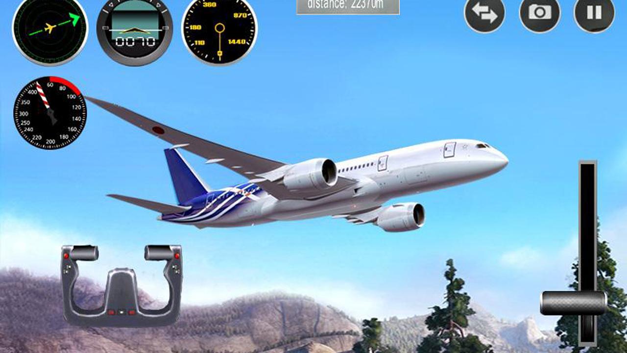 plane game