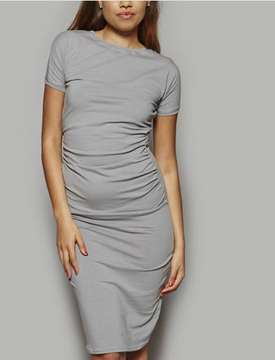 rouched dress at And Threads
