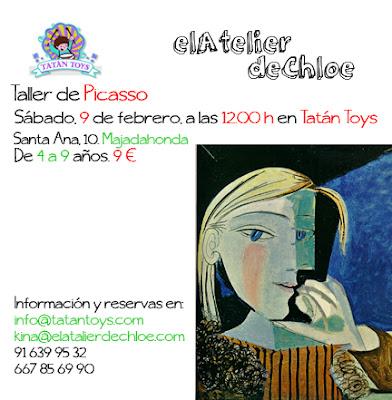 {el Atelier de Chloe} Picasso