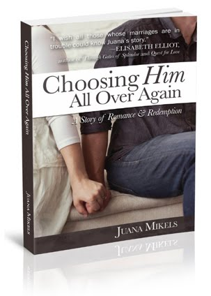 Choosing Him All Over Again Book on Amazon, Barnes & Noble, Audible & more & bookstore near you