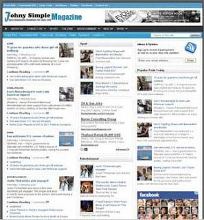 Johny Simple Magazine