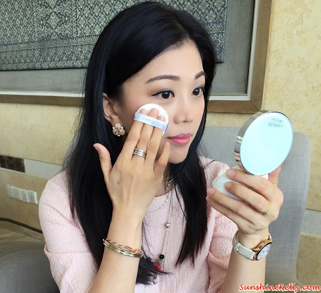 Flawless Makeup in 2.5 Seconds Challenge, Flawless Makeup in 2.5 Seconds, Laneige, Waterclay Mask, Blurring Tightener, BB Cushion Pore Control, Laneige Malaysia, Pore Care Solutions