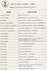 ACTIVITATS  PREVISTES JLF 2010-11