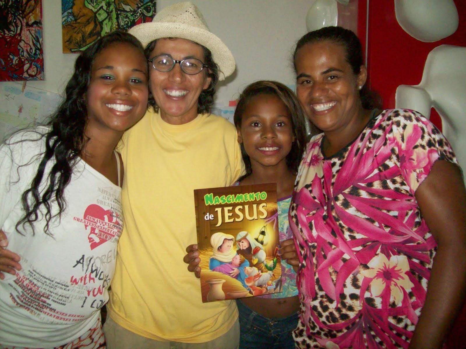 Família de ouvintes-leitoras do Alacazum Palavras Para Entreter